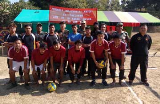 21 Assam Rifles organised a friendly volleyball match  between teams of Satari   and  Thelakum on 22 Jan 19 .
